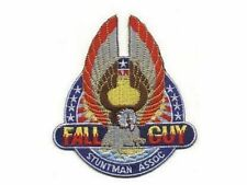 L'homme qui tombe à pic ecusson logo Fall Guy Stuntman Association patch