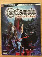 Brady Games Castlevania Order of Ecclesia Nintendo DS Official Strategy Guide