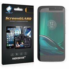 3 Clear HD Front Anti Scratch Screen Cover protectors For Motorola Moto G4 Play