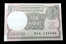 1 RUPEE ~ SERIAL ENDING WITH 786 ~ ONE RUPEE NOTE ~ UNC ~ RARE