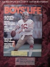 BOYS LIFE Scouts November 1982 Nov 82 JOE MONTANA VW BUG BEETLE