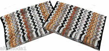 MISSONI HOME PACKAGE  PAUL 160 -2 HAND TOWELS SET 40x60 - 2 OSPITI BUSTA LOGATA