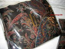 RALPH LAUREN Bedford Hunt Collection KING Bedskirt-Earth Toned Paisley-$160/NWT!