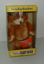 Vintage Knickerbocker Teddy Bear Japan Long Island Doll Club Indian 1969 MIB