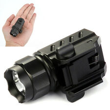 New TrustFire G01 XP-G R5 LED Flashlight Torch 600LM for Gun/Pistol Handgun NV68