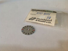 870805 Genuine Day Dial Disk  Seiko Bellmatic Mov't No. 4006 On 3'Oclock Side
