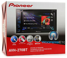"PIONEER AVH-270BT 6.2"" TV DVD CD MP3 USB IPOD BLUETOOTH EQUALIZER CAR STEREO NEW"