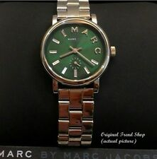 MARC JACOBS Baker Metallic Green Dial Stainless Steel Ladies Watch (MBM3345)