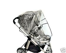 Pram and Bassinet RAIN COVER with storage bag, Fits Baby Jogger Steelcraft &...