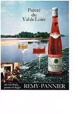 PUBLICITE  1971   REMY-PANNIER  vin du VAL de LOIRE  rosé