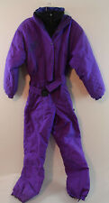 Women's edelweiss Vintage Purple SZ 6 Small One Piece Snow Suit Snow Board Ski
