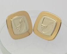 ♦♦Tiffany♦ Herren Manschettenknöpfe in aus 925er Sterlingsilber Silber 750 Gold