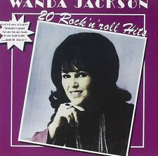 Wanda Jackson 20 Rock 'N' Roll Hits CD NEW Let's Have A Party/Stupid Cupid+