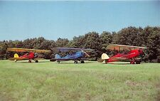 BLAKESBURG IOWA TRIO OF BIRDS AT 1983 AAA-APM FLY IN~OWNERS LISTED POSTCARD
