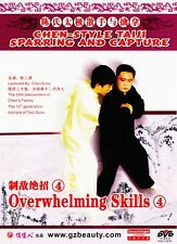 Chen Style Taiji Sparring and Capture Overwhelming Skills 4 by Chen er'hu DVD