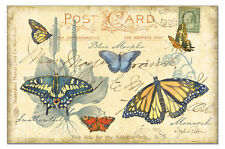 "CounterArt Paper Placemats-Set of 24-17"" x 11""-Butterfly Journal #45808"