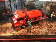 Trax Trux Chevrolet Blitz Bush Fire Truck/Tanker Fire Fighting 1:50 Diecast ....