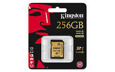 Kingston SD Card 256GB Class 10 SDHC Camera Memory Card SDA10/256GB UHS