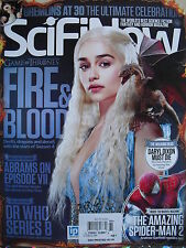 GAME OF THRONES 2014 SciFiNow #91 (UK)  DR. WHO SERIES 8  WALKING DEAD  S-M2