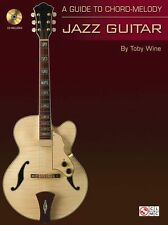 Guide To BASIC Chord Melody BASS LINES Jazz Guitar Learn to Play Music Book & CD