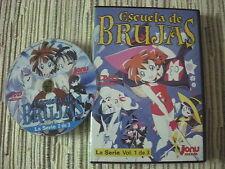 DVD ANIME ESCUELA DE BRUJAS LA SERIE VOLUMÉN 1 CAPITULOS 1-5 USADO BUEN ESTADO