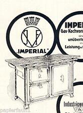 Imperial Herd Ofen AG Vogel Bünde Orig. Reklame 1924 Hannover Kruse Pohlmann ad