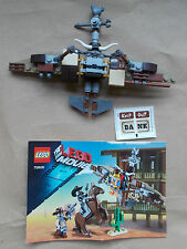NEW THE LEGO MOVIE GETAWAY GLIDER STICKERS & INS. NO MINIFIGS JUST ADD YOUR OWN