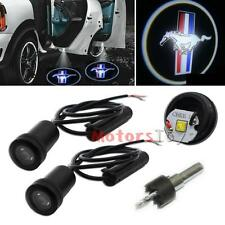 2x LED Car Door Ghost Shadow Laser Projector for Ford Mustang GT 500 Cobra Shelb