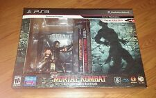 PS3 Mortal Kombat: Kollector's Edition - NEW SEALED