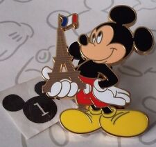 Mickey Mouse Holding Eiffel Tower in Right Hand Disneyland Paris DLRP Disney Pin
