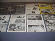 VINTAGE..CURTISS FLYING BOATS AMERICA - PH-3..HISTORY/PHOTOS...RARE! (873)
