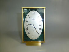 EXC Rare Vintage ANGELUS Swiss Mechanical 8 Day Alarm Clock ( WATCH THE VIDEO )