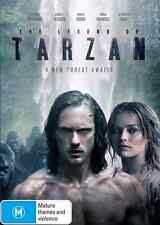 The Legend Of Tarzan (DVD, 2016) NEW
