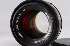 Canon FD 55mm 1.2 s.s.c Lens #508 From Japan