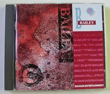 CHRIS BAILEY (CD)  SAVAGE ENTERTAINMENT