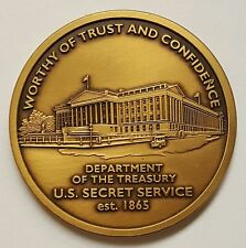 USSS United States Secret Service Department of the Treasury Coin 1.75""
