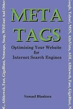 Meta Tags - Optimising Your Website for Internet Search Engines (Google, Yahoo!,