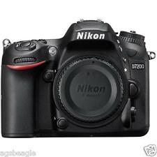 Nikon D7200 Body DSLR Digital Camera Brand New Cod Agsbeagle