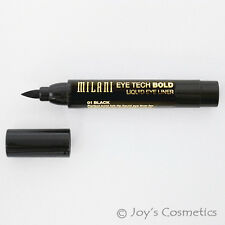 "1 MILANI Eye Tech Bold Liquid EyeLiner - ""MTB 01 - Black""   *Joy's cosmetics*"