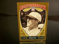 George Sisler Panini Cooperstown 2013 Card #30 Class of 1939 St. Louis