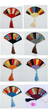 Wholesale10pcs Chinese Handmade Vintage Fan-Shape Jewelry Pouch Gift Bag Purse