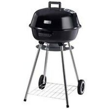 """New Omaha Outdoor 2412641 18"""" Square Charcoal Kettle Grill 32 X 18 W/ Wheels"""