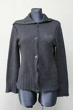 DAY BIRGER ET MIKKELSEN Night Damen Jacke Gr. L Cardigan Mohair mix schwarz !4