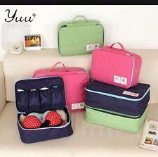 Waterproof Travel Organizer Bag For Underwear,Bra,Lingerie,makeup & cosmetic bag