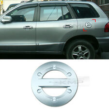 Chrome Fuel Cap Cover Molding Garnish Trim For HYUNDAI 2002 - 2005 Santa Fe