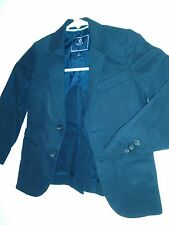 CREWCUTS boys' navy-black blazer, Size 4