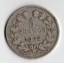 MONNAIE / ECU DE 5 FRANCS LOUIS PHILIPPE 1832 B @ ROUEN @ SILVER COINS @ RARE !!