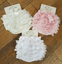 NEW couche tot tutu knickers 6-9 months ivory BNWT
