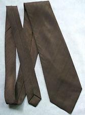 Lynx Corbatas Inglaterra Vintage amplia Corbata Retro Años 70 Mod Casual Marrón Oscuro