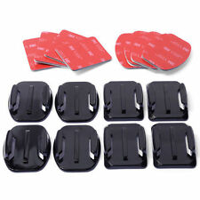 6pcs Curved+6pcs Flat 3M Adhesive Mounts accessories For Go pro Hero 3+3 2 1 New